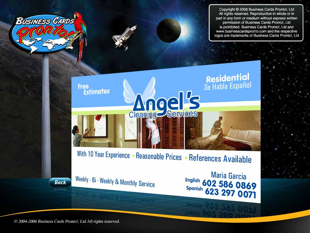 Business cards pronto angels cleaning services business cards pronto angels cleaning services magicingreecefo Gallery