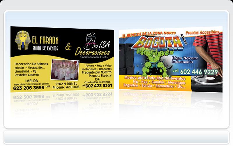 Business cards pronto el faraon salon de eventos isa business cards pronto el faraon salon de eventos isa decoraciones coordinacion de eventos colourmoves